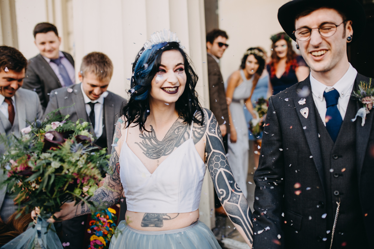 tattoo skater wedding in brighton